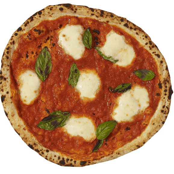 Holy Napoli authentic margherita frozen pizza
