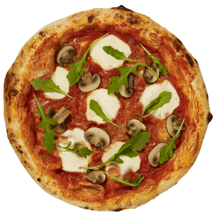 Holy Napoli Funghi frozen pizza